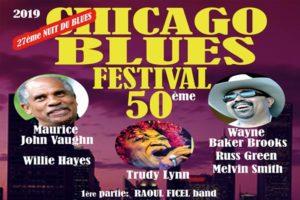 NUIT DU BLUES X CHICAGO BLUES FESTIVAL - SAMEDI 23 NOVEMBRE 2019 - HALLES DE GASCOGNE - LEOGNAN (33)