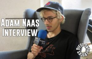 INTERVIEW MANUSCRITE #36 - ADAM NAAS @ DIEGO ON THE ROCKS