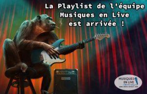 LA PLAYLIST VIDÉOS DE L'ÉQUIPE MUSIQUES EN LIVE !!