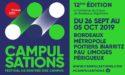 FESTIVAL LES CAMPULSATIONS – 26 SEPTEMBRE > 05 OCTOBRE 2019 – BORDEAUX METROPOLE