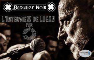 INTERVIEW MANUSCRITE #42 - LORAN de BERURIER NOIR @ DIEGO ON THE ROCKS