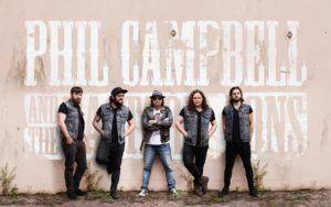 PHIL CAMPBELL & THE BASTARD SONS - MERCREDI 25 SEPTEMBRE 2019 - ROCK SCHOOL BARBEY - BORDEAUX
