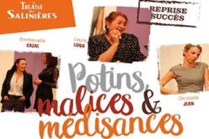 POTINS, MALICES ET MEDISANCES -ESPACE CULTUREL LUCIEN MOUNAIX - VENDREDI 4 OCTOBRE 2019 - BIGANOS