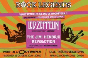 ROCK LEGENDS - MERCREDI 23 OCTOBRE 2019 - OLYMPIA - PARIS