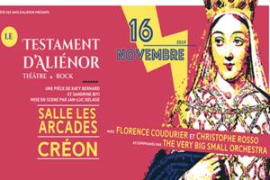 LE TESTAMENT D'ALIENOR - SAMEDI 16 NOVEMBRE 2019 - CREON