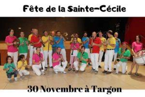 SAINTE CECILE - SAMEDI 30 NOVEMBRE 2019 – ESPACE RENE LAZARE - TARGON