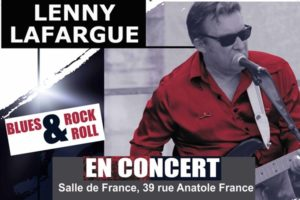 CONCERT LENNY LAFARGUE - VENDREDI 29 NOVEMBRE 2019 - SALLE DE FRANCE - PESSAC