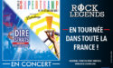 ROCK LEGENDS – SUPERTRAMP & DIRE STRAITS performed by LOGICALTRAMP & MONEY FOR NOTHING – Mercredi 18 Mars 2020 – Palais des Congrès – 72000 Le Mans