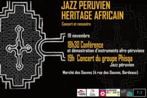 HERITAGE AFRICAIN: LES RACINES DE LA MUSIQUE LATINO AMERICAINE - 19 & 20 NOVEMBRE 2019 - BORDEAUX