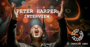 INTERVIEW MANUSCRITE #56 - PETER HARPER @ DIEGO ON THE ROCKS  @ CAROLYN