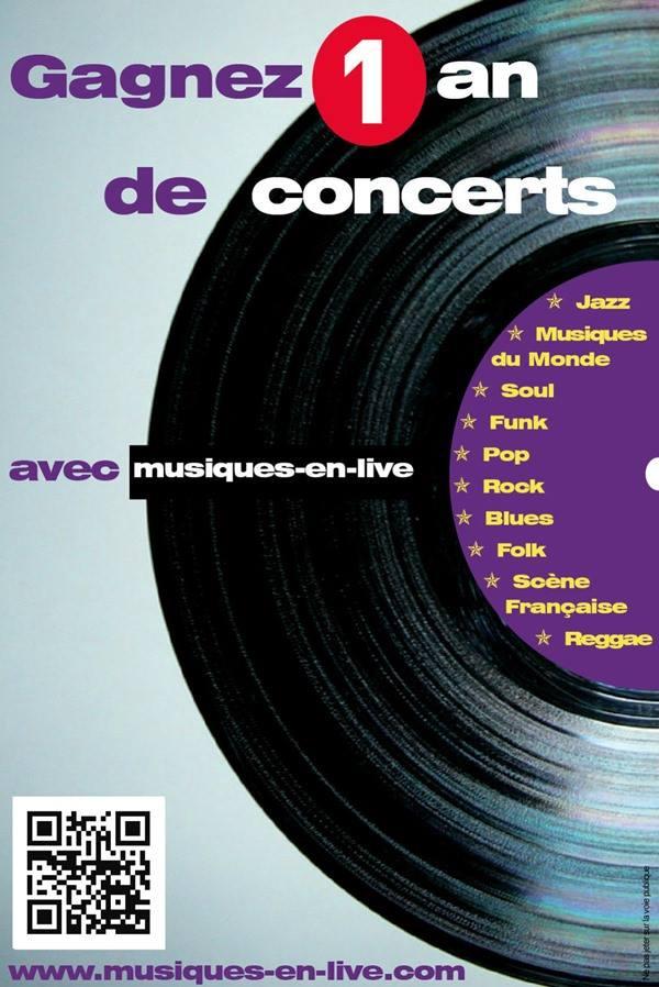 flyer 1 an de concerts