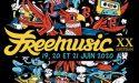 FESTIVAL FREEMUSIC #20 – 19 > 21 JUIN 2020  – LAC DE MONTENDRE (17)
