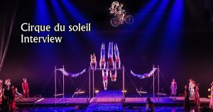INTERVIEW MANUSCRITE #57 - LE CIRQUE DU SOLEIL @LINO B.
