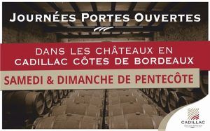 JOURNEES PORTES OUVERTES FESTIVES & GOURMANDES 30 > 31 MAI 2020 - ST-GERMAIN-DE-GRAVES (33)