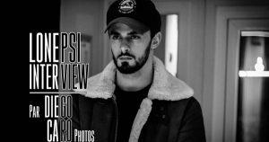 INTERVIEW MANUSCRITE #58 - LONEPSI @ DIEGO ON THE ROCKS  @ CAROLYN